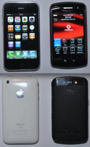 Blacberry Storm vs iPhone 3G