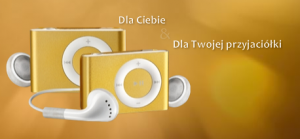 Złoty iPod shuffle