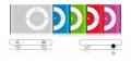 iPod shuffle 2g - iPod shuffle drógiej generacji