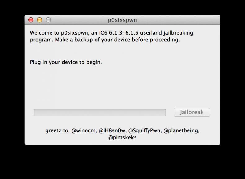 Jailbreak iOS 6.1.X