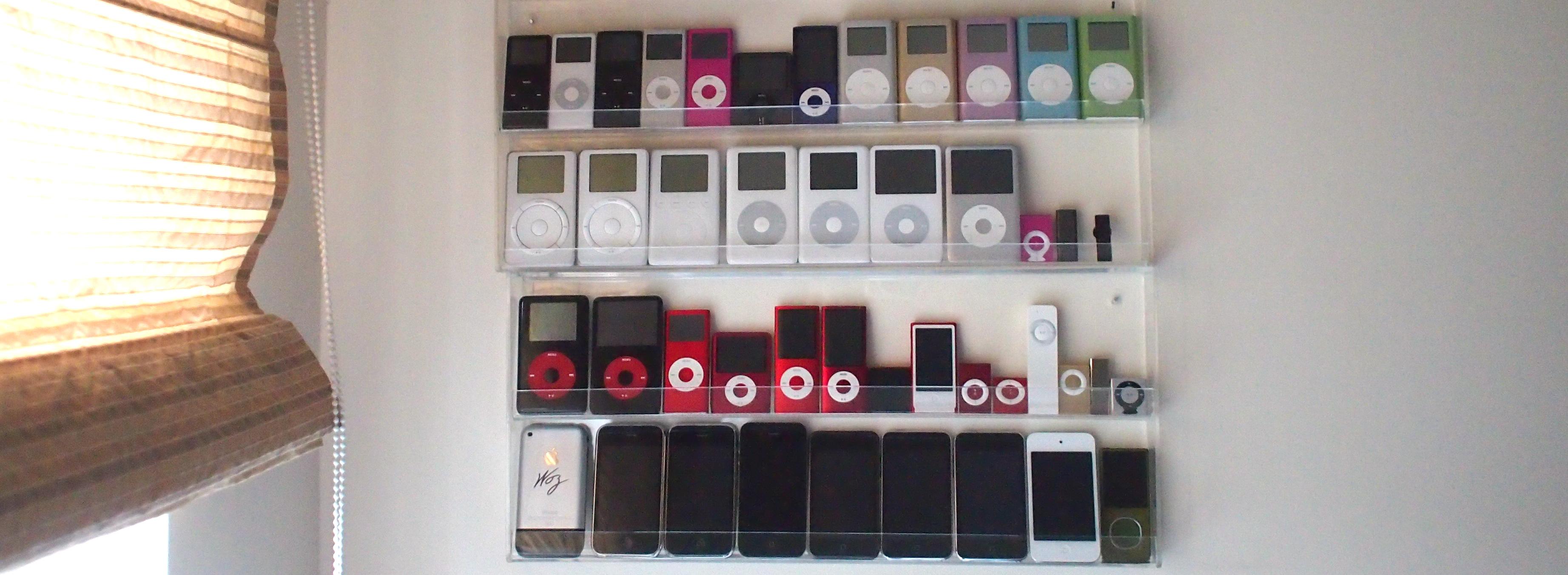 Tak - mam kolekcję iPodów
