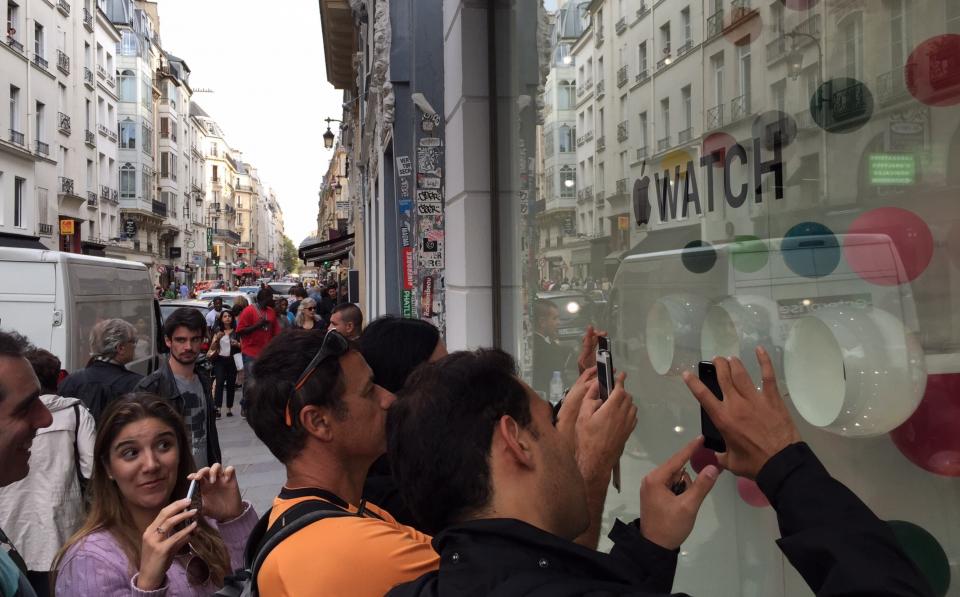 Apple Watch na Fashion Week